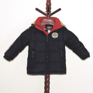 Oshkosh B'Gosh hooded winter parka jacket